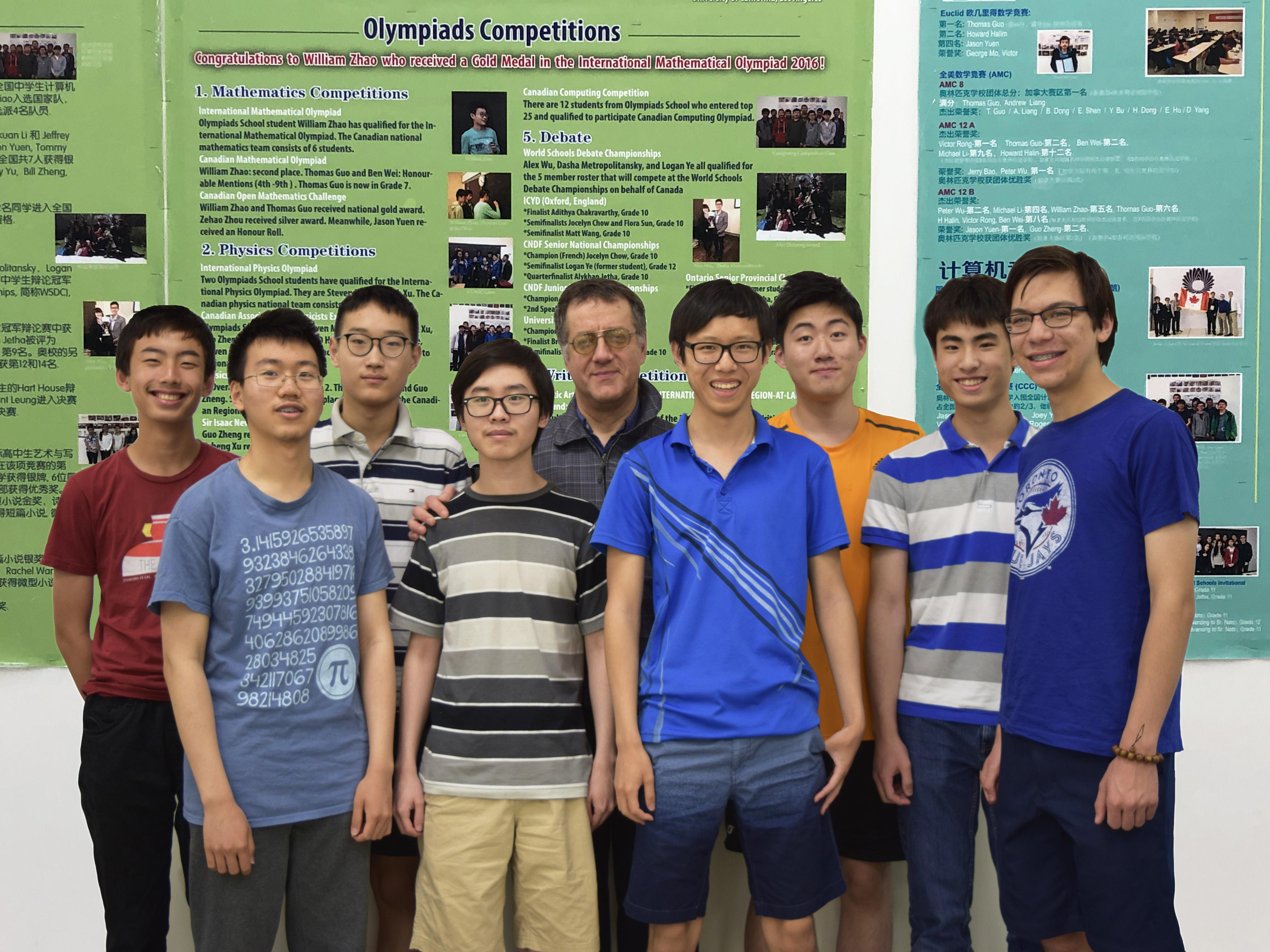 Achievement 2017 – 2018 | Olympiads School